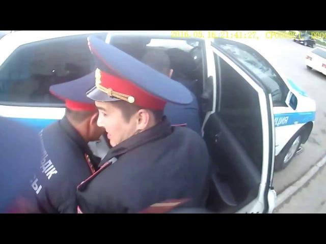 Беспредел полиции - 2 (Задержание Абжан Махамбета)