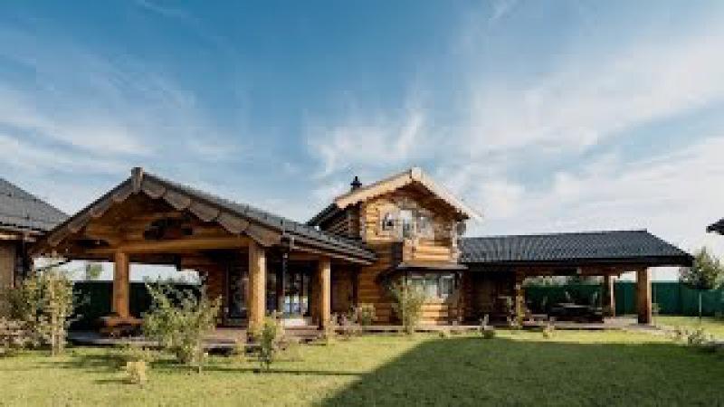 Рубленый дом баня из кедра «Елена Прекрасная на ForumHouseTV