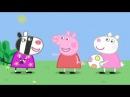 Мультфильм Свинка Пеппа - болтушка. На английском языке с русскими и английскими субтитрами.