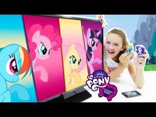 Игры для девочек. ЛИТЛ ПОНИ Искорка, Пинки Пай  в мобильном приложении. Дружба - это чудо!