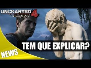 FANBOYS: Entenda Porque Usei o Trailer da E3 2014 do Uncharted 4 na Comparação Gráfica!