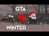 GTA 4 Winter 4 - Funny Moments - Merry Christmas And Happy New 2015 Year