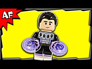Lego Cosmic Boy - Rokk Krinn DC Super Heroes 30604 Stop Motion Build Review