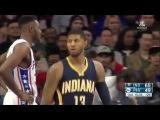 Indiana Pacers vs Philadelphia 76ers | Full Highlights | April 2, 2016 | NBA 2015-16 Season