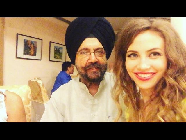 Первые отзывы от высоких лиц после первого концерта в Нью Дели 👍🏽 На видео секретарь комитета Конгресса Индии Дальбир Сингх.