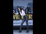 [직캠Fancam] 140928 블랙썬(Black Sun) 힙합여우들 (키아)  고양종합경기장 라이브카 콘서트