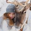Фотосессии с оленями в питомнике Северное Сияние