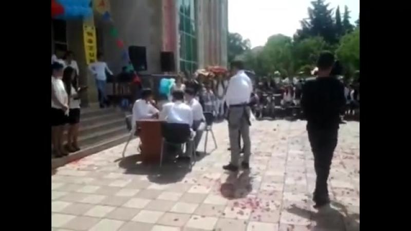 Goygol rayonu 1 sayli orta mektebde son zeng