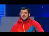 СУПЕР ПЕСНЯ квн 2012 г Камызяки Скороход Раскололось сердце -1