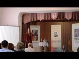 Дочь на конкурсе стихов Пушкина в Бресте (прости, доча, что загрузила это видео)