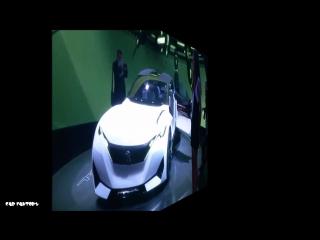 PEUGEOT FRACTAL French Concept Car 3D printed i-Cabin!!!