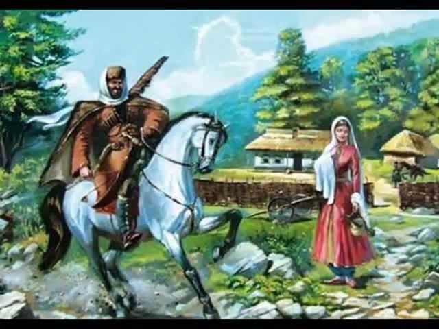 Шагъдий | Про коня Шагдія | Circassian folk song
