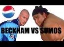 Beckham All Stars football team VS SUMOS