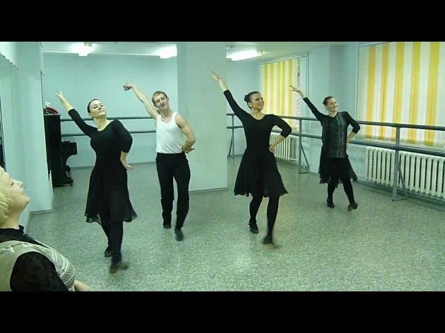 Экзамен Народного танца Калмыкии
