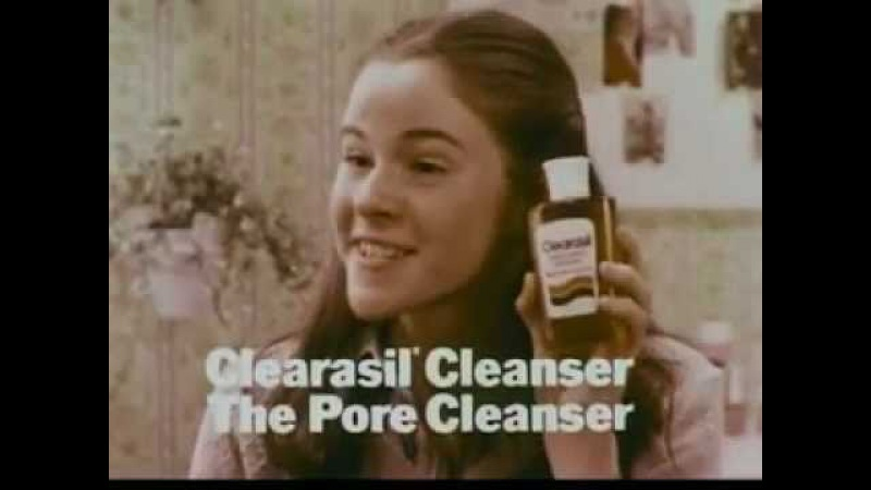 1970's Clearasil Face Cleanser Commercial Featuring Ally Sheedy