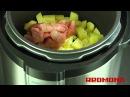 Картофель с мясом по дачному в мультиварке видео рецепт для Redmond RMC M4504