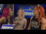 Becky Lynch and Sasha Banks reluctantly agree to help each other SmackDown, Feb. 4, 2016