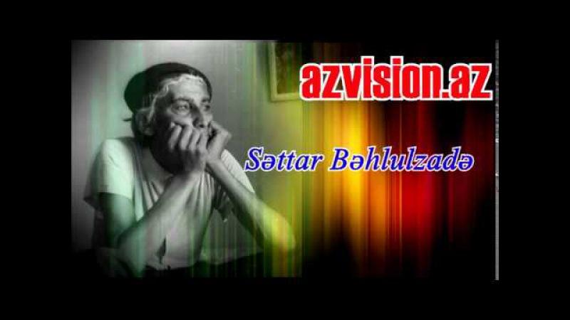 Settar Behlulzade yaradiciliq planlari haqqinda danishir