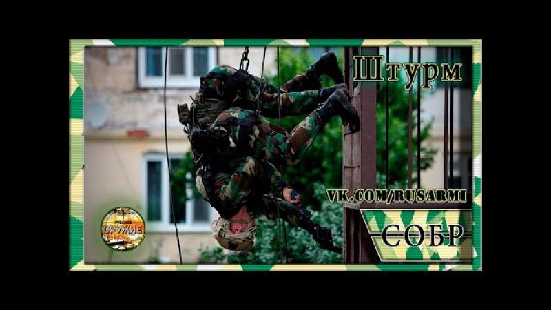 Изнурительные тренировки русского спецназа СОБР