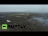 Ukraine: Drones shows DPR's explosive military drills