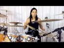 Patricia Teles - Please don't Stop The Music (Rihanna) drum cover