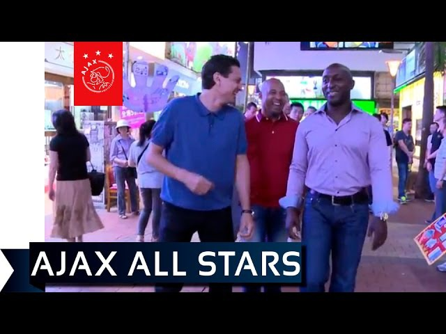 Litmanen met Ajax All Stars in Hong Kong