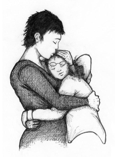 Иллюстрация из книги Холли Голдберг Слоун Я считаю по 7