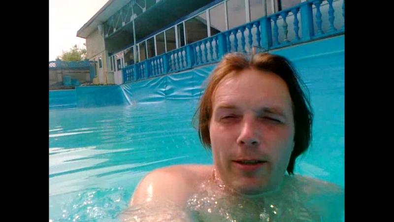 Бассейн с термальной водой в Паратуньке-Камчатка 18.07.16