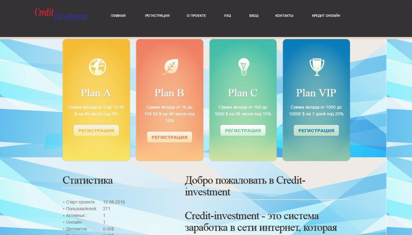 Credit Investment