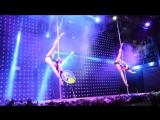 I место Pole dance Artistic Duet, Мария Харитонова, Ольга Баранова, г. Омск. 4 СТИХИИ, Сибирские гонки по вертикали