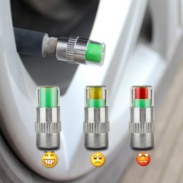 Датчик давления в шинах с индикатором