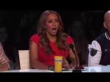 America's Got Talent — 6-Year-Old Aaralyn Screams Her Original Song, 'Zombie Skin'