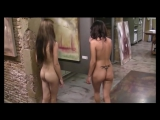 Agnes B. &amp Andrea P. nude in public