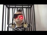 """Игрушка """"Скелет в клетке"""""""