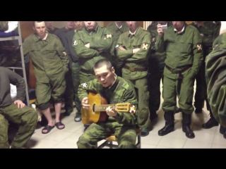 Армейские песни под гитару - И там где Северный кавказ - 720x540
