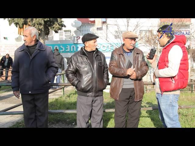 Gurcustan Azerbaycanlilarinin yashadigi kendlerde sorgu.