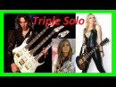 For The Love of God Tina S Emily Hastings Steve Vai = Triple Solo