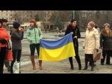 Скандальная годовщина Евромайдана в Славянске