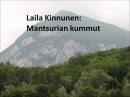 Laila Kinnunen Mantsurian kummut suomeksi 1962