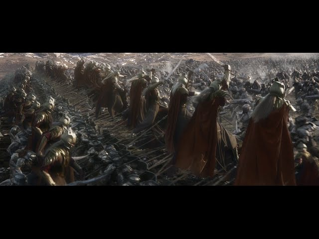 The Hobbit - The Battle Of The Five Armies - Extended Edition - Battle For The (City ) Mountain