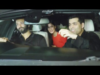 Katrina Kaif At Salman's SULTAN Screening At Yash Raj Studios