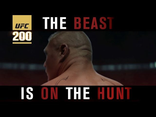 UFC 200: Lesnar vs Hunt - The Beast is on the Hunt