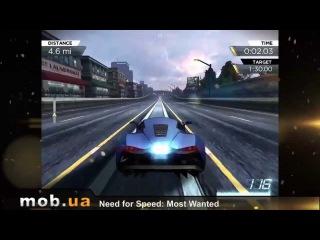 Обзор Need for Speed Most Wanted для Андроид - mob.ua