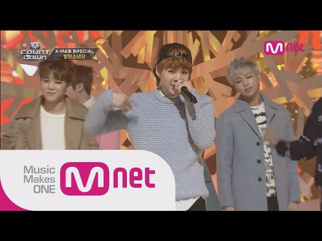 방탄소년단(BTS) - 하루만(Just One Day) 호르몬전쟁(War of Hormone) M COUNTDOWN 406화