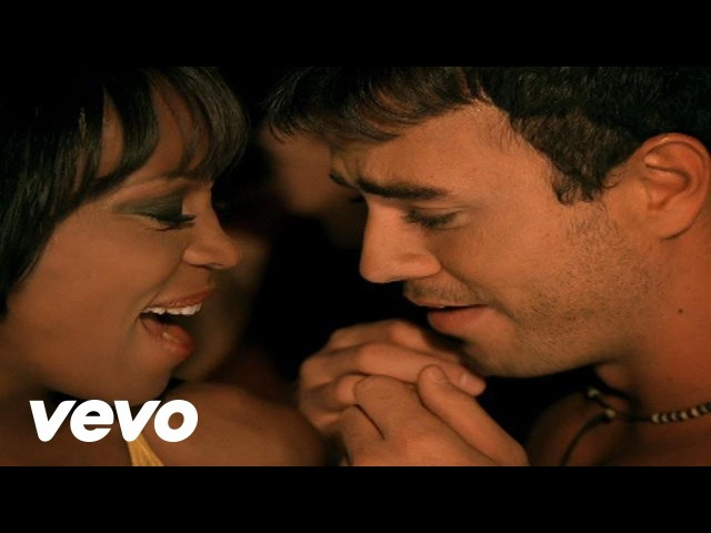 Whitney Houston Could I Have This Kiss Forever Official Music Video ft Enrique Iglesias