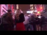 Taksim'de Azeri turistin şoke eden tacizi