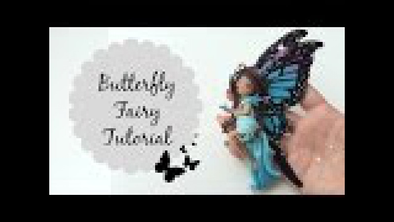TUTORIAL Polymer Clay Butterfly Fairy ♡ Doll Chibi