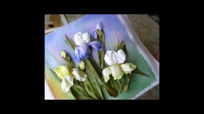 Как оформить вышивку в рамку Вышивка ИРИСОВ