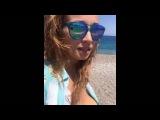 Анфиса Чехова показывает грудь на пляже! EXCLUSIVE!