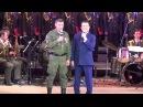 Иосиф Кобзон и Александр Захарченко спели в Донецке дуэтом